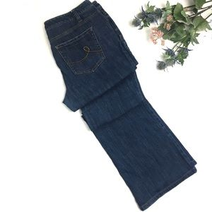 Loft Curvy Boot Jeans Size 10